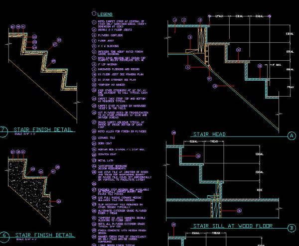 Stairs Section Drawing at GetDrawings com   Free for personal use