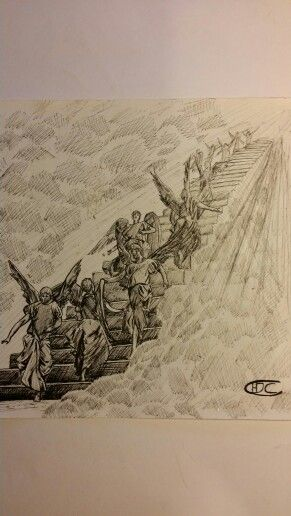291x516 Stairway To Heaven Drawing Tattoos Stairways