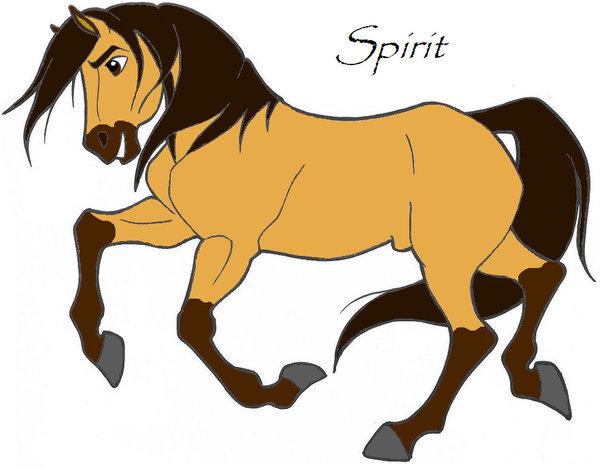 600x469 How To Draw Spirit Stallion The Cimarron Spirit Stallion