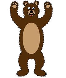 214x250 Cartoon Bear Step By Step Drawing Lesson
