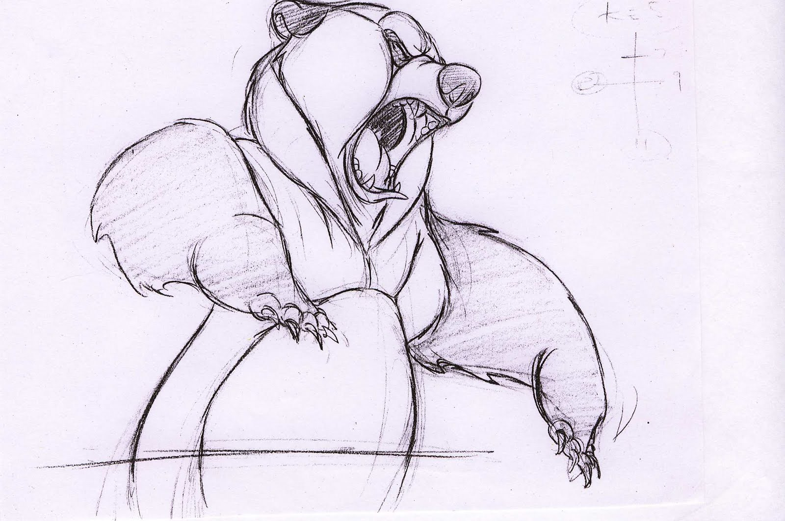 1600x1063 Bears, Disney Concept Art And Sketches