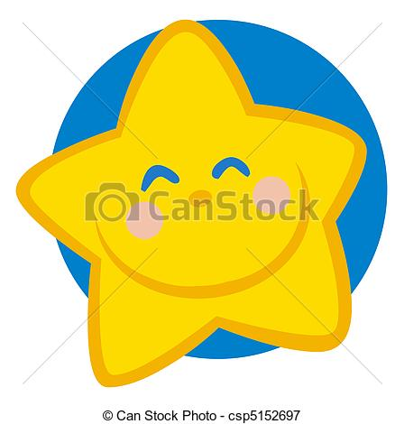 448x470 Smiling Star Cartoon Character Happy Grinning Yellow Star