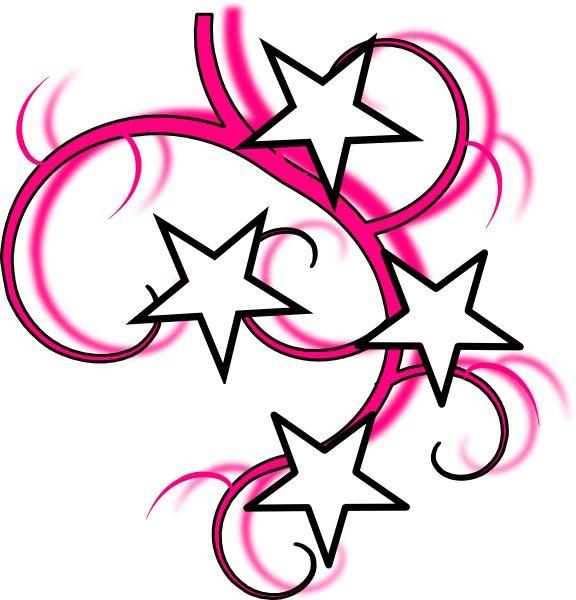 576x600 Heart Swirl Designs