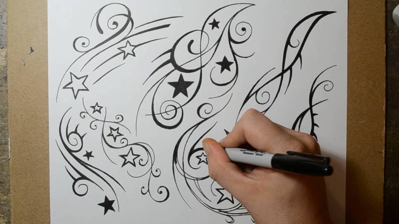 1280x720 Shooting Star Tattoo Design Ideas