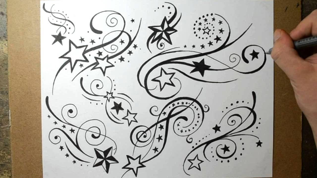 1280x720 Shooting Star Tattoo Designs