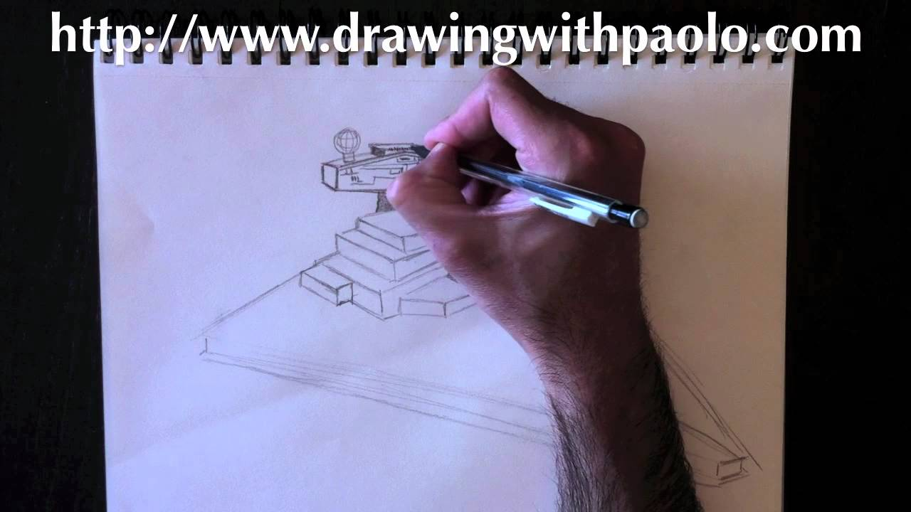 1280x720 Drawing A Star Destroyer With Paolo Morrone