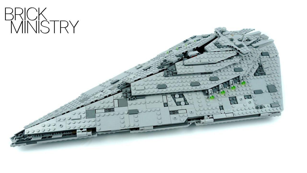 1280x720 Lego 75190 Star Wars First Order Star Destroyer