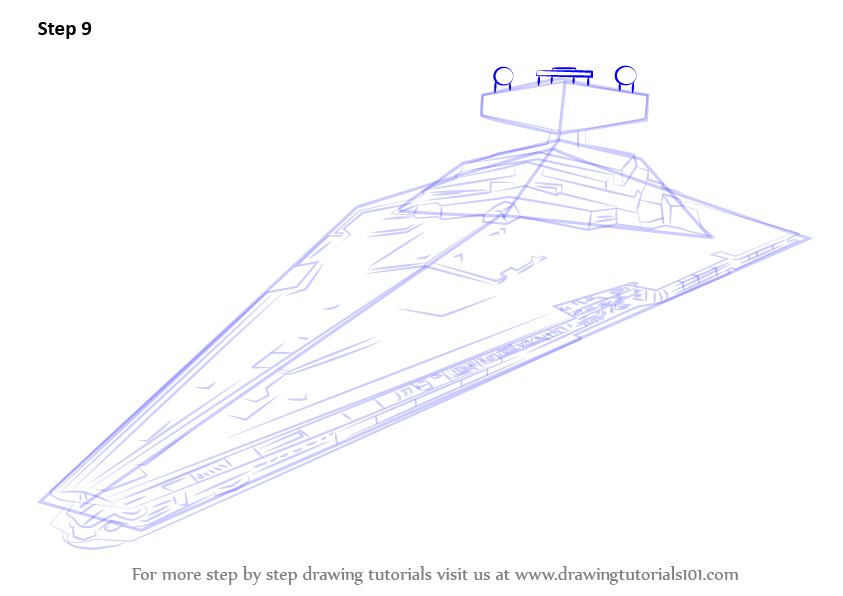 Star Destroyer Drawing At Getdrawings Free For Personal Use