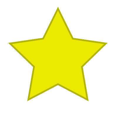 395x395 Drawing A Vector Star