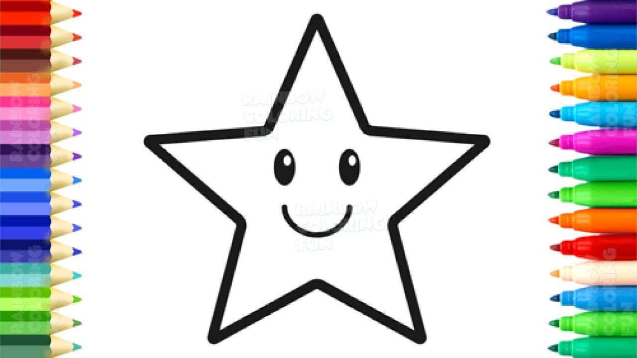 1280x720 How To Draw Stars For Baby