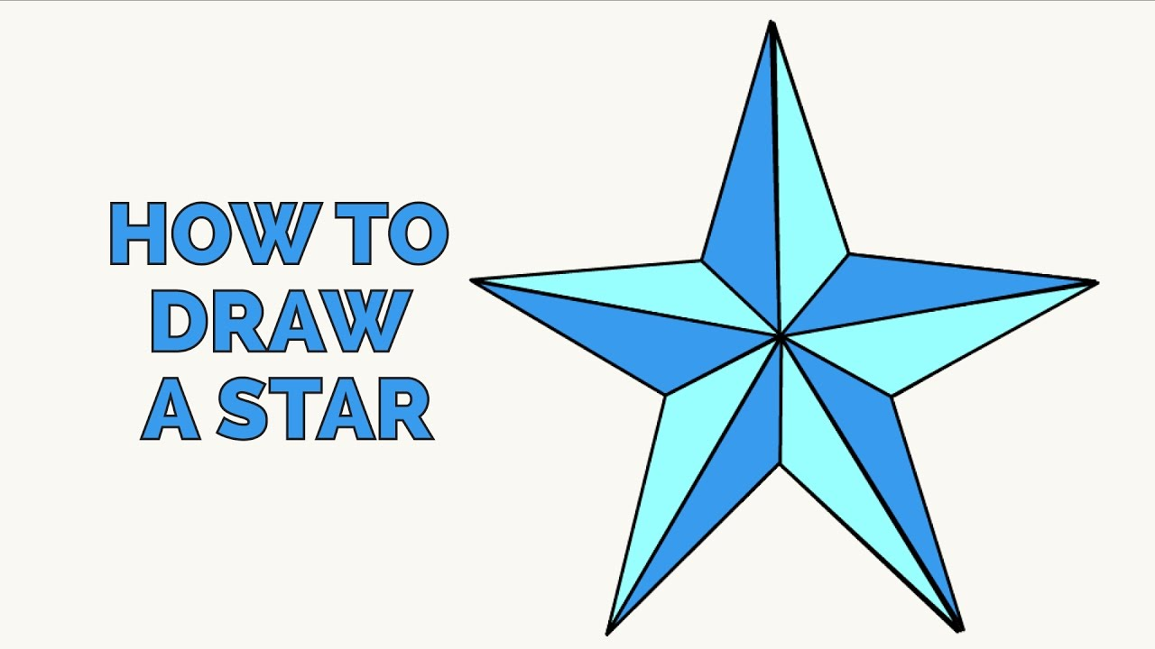 1280x720 How To Draw A Star