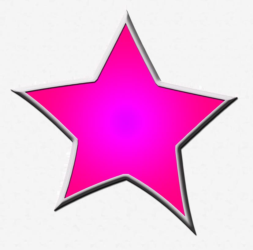 827x818 Star Clipart