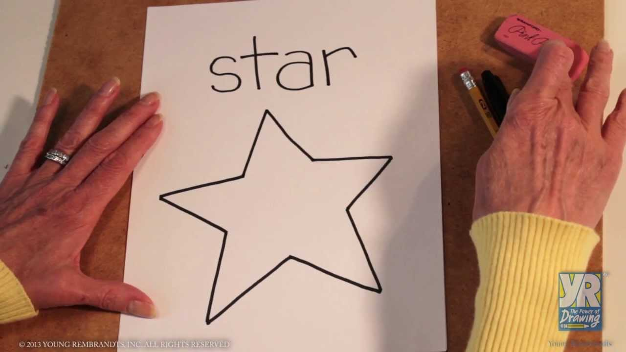 1280x720 Teaching Kids How To Draw How To Draw A Star