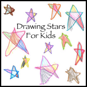 300x300 How To Draw A Star Step By Step For Kids Archives