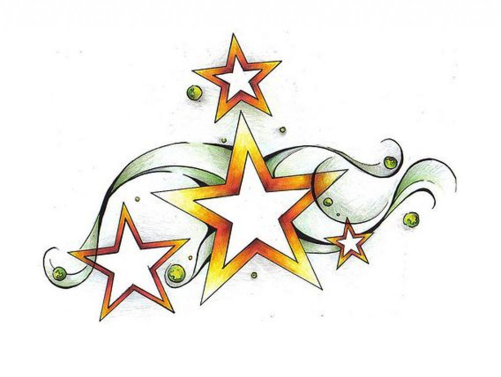 1024x771 Shooting Star Tattoo Drawings Shooting Star Tattoos Designs