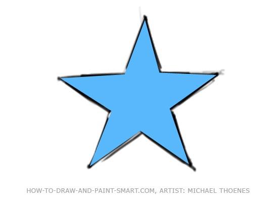 550x401 Draw A Star Shape
