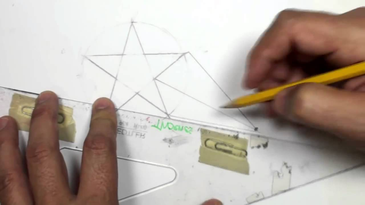 1280x720 How To Draw A 3d Star Shape Draw A Star In One Point Perspective
