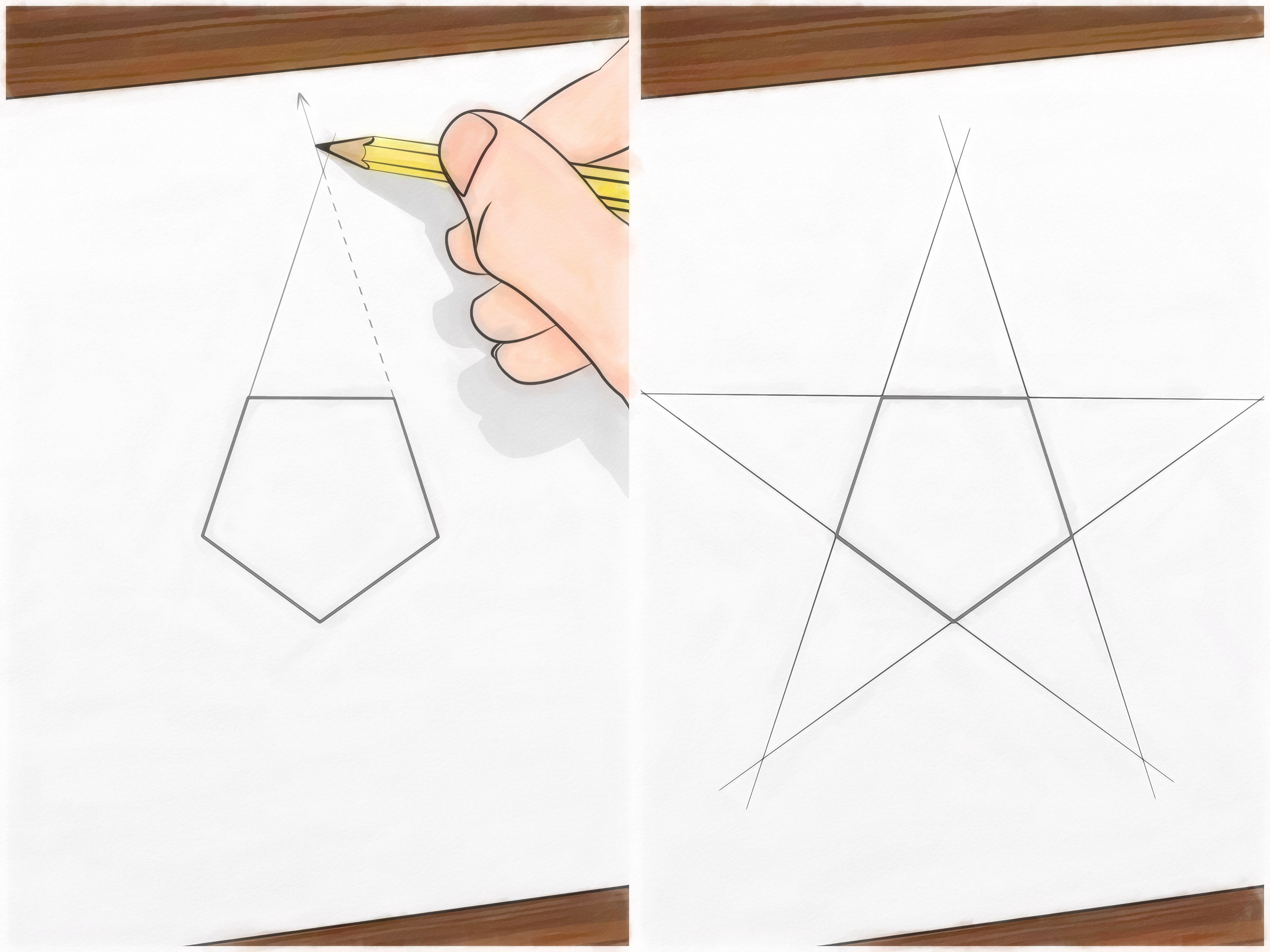 3200x2400 How To Draw A Perfect Star 13 Steps (With Pictures)