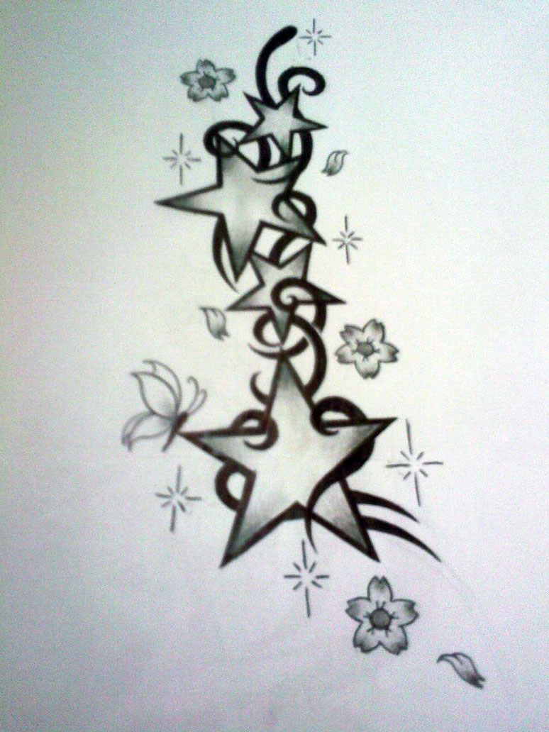 Star Tattoo Drawing At Getdrawings Com Free For Personal Use Star