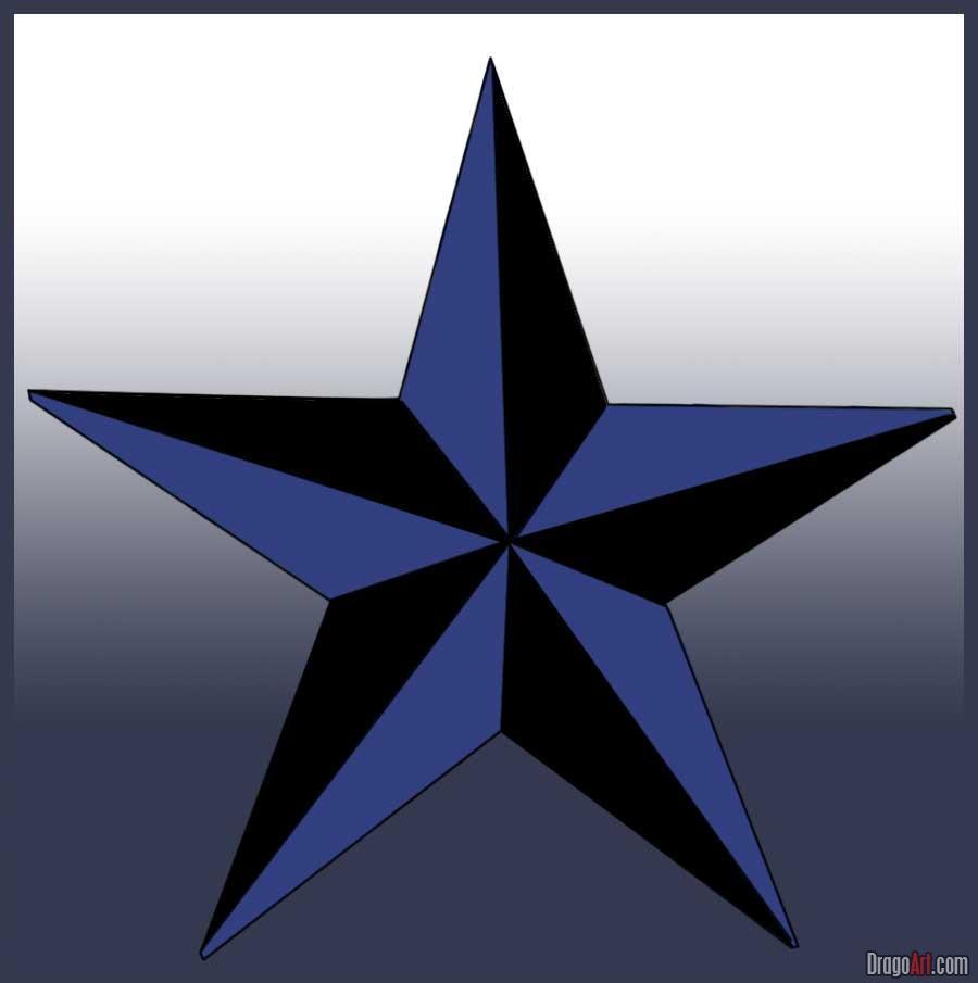 900x905 How To Draw A Nautical Star Craft Ideas Nautical