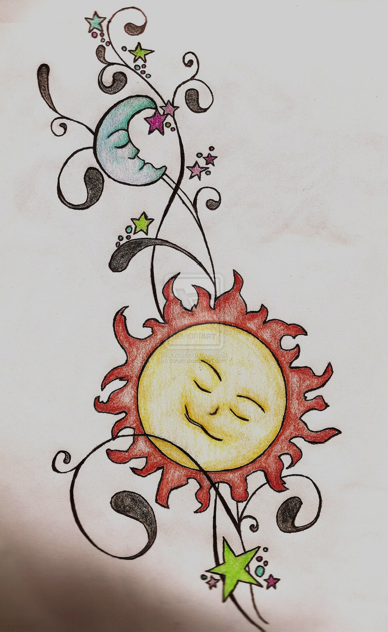 1280x2086 Sun Hip Tattoo Pin Pin Hip Star Tattoos Free Tattoo Designs