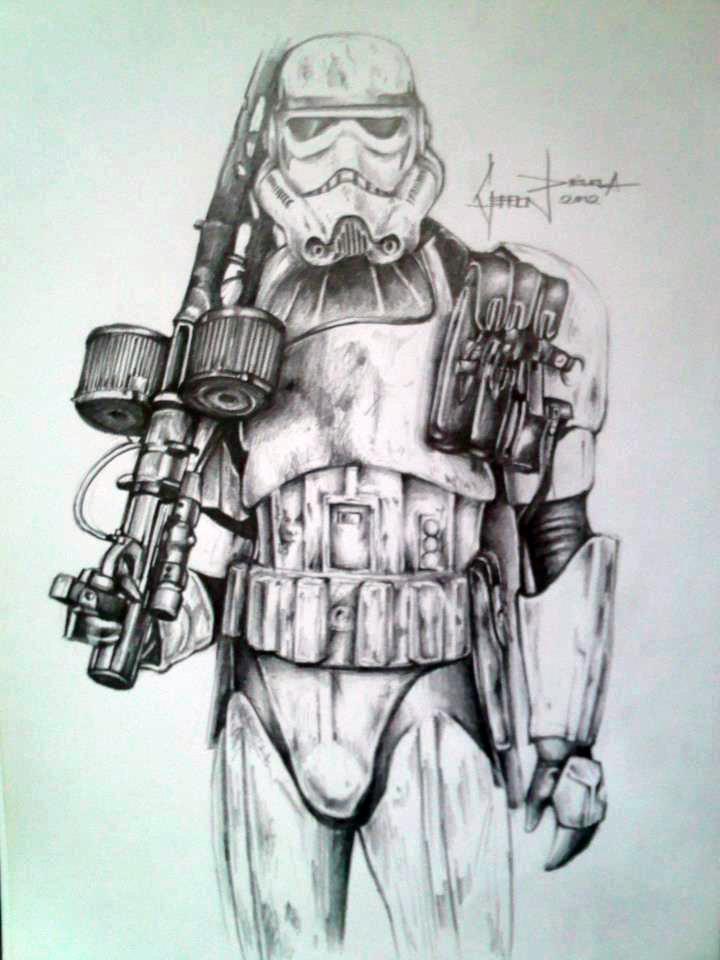720x960 Star Wars Drawing