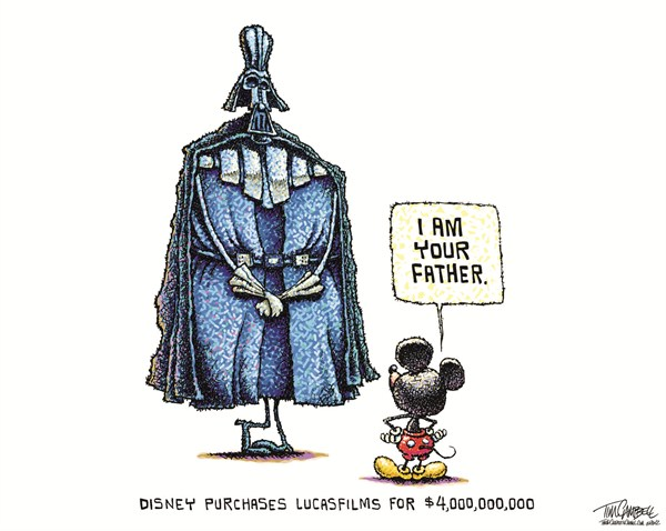 600x478 Disney + Star Wars Mash Ups!
