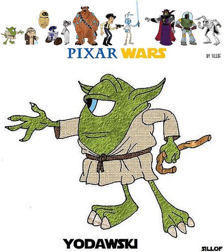 450x506 Pixar Wars If Pixar Designed Star Wars Characters