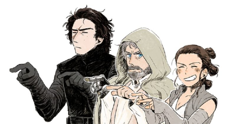 800x420 Artist Brilliantly Reimagines Star Wars Characters In Anime Form