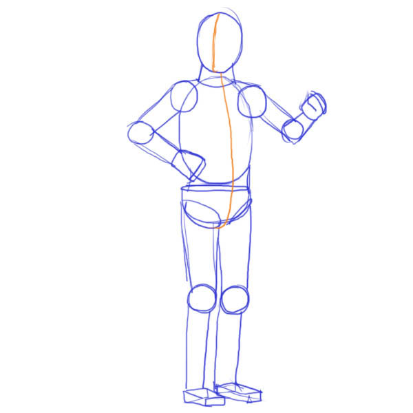 600x600 How To Draw Star Wars Characters C3po