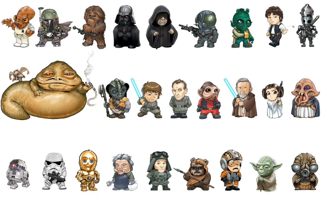 1024x640 Star Wars Characters Drawings Images About Star Wars