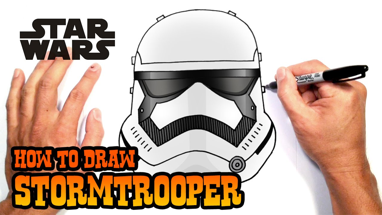 1280x720 How To Draw A Stormtrooper Star Wars