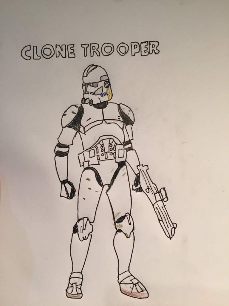 768x1024 Clone Trooper Drawing. Star Wars Amino