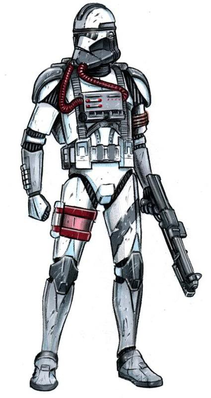 425x800 The Trooper Evolution Star Wars The Trooper Evolution