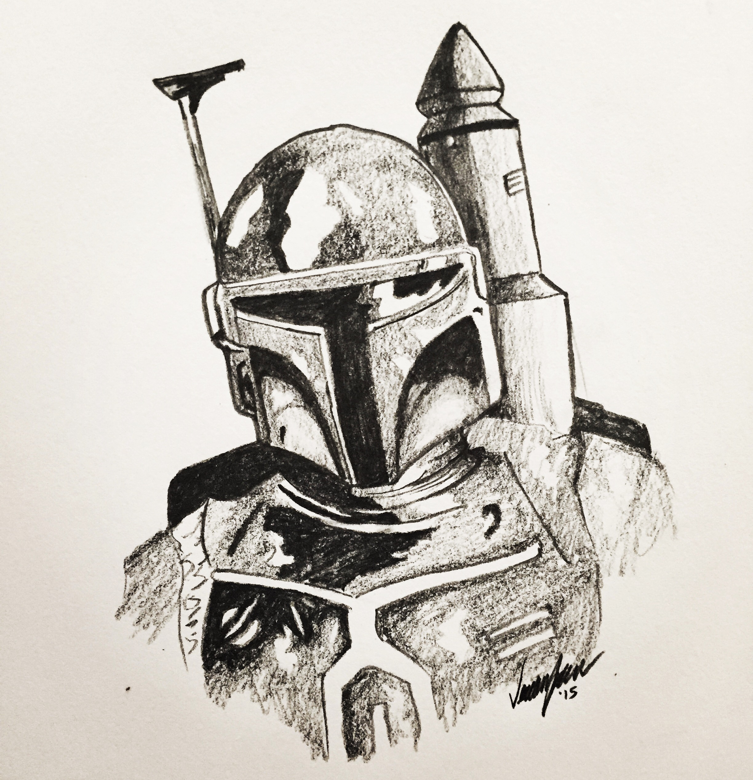 Star Wars Drawing at GetDrawings.com | Free for personal use Star ...