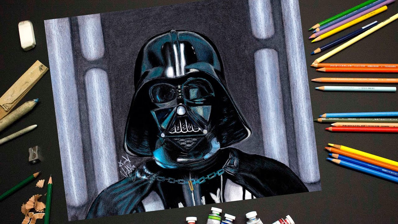 1280x720 Drawing Darth Vader From Rogue One A Star Wars Story