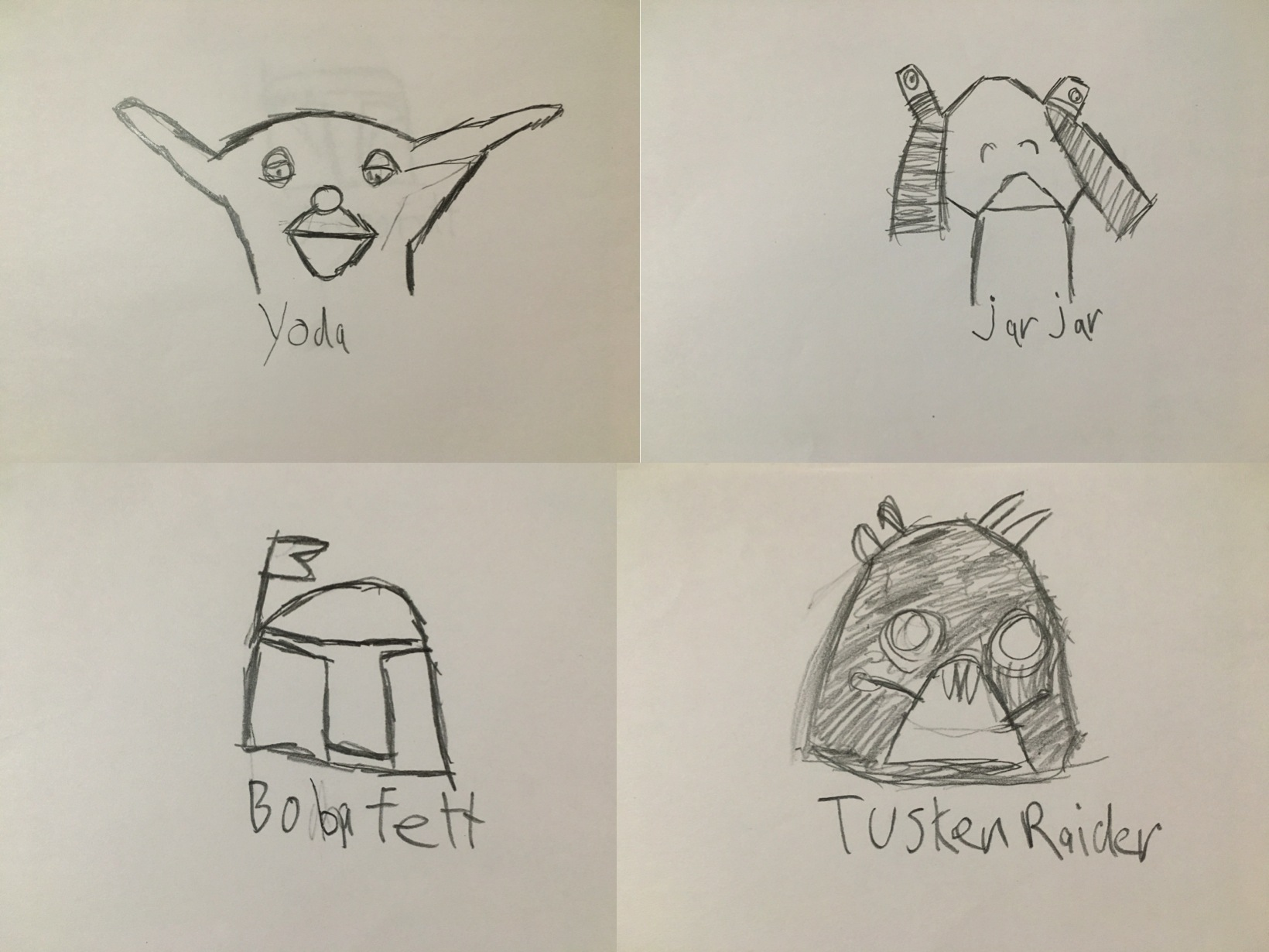 1640x1230 Brady's Star Wars Drawings Redefining Special