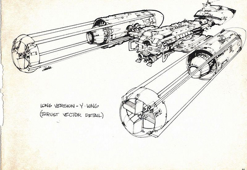500x344 Star Wars Ships Drawings