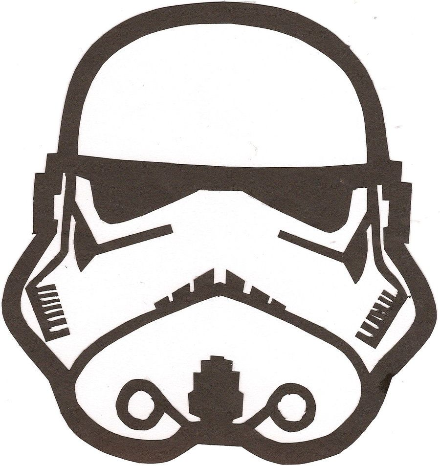 photo about Stormtrooper Stencil Printable named Star Wars Stormtrooper Helmet Drawing at