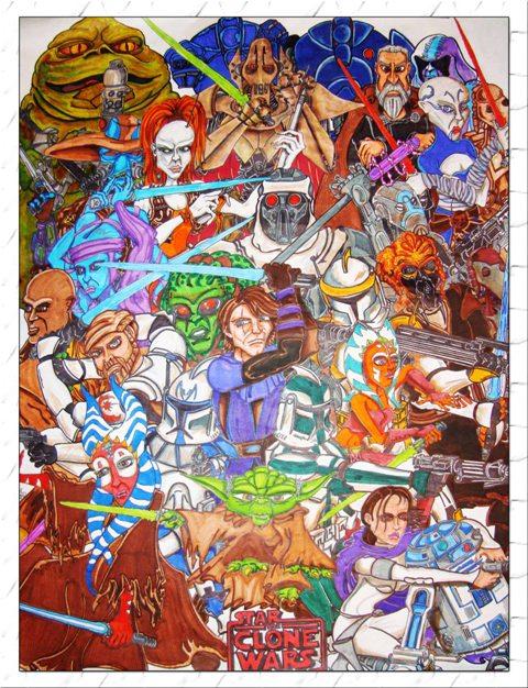 480x626 Star Wars The Clone Wars Star Wars Fanart