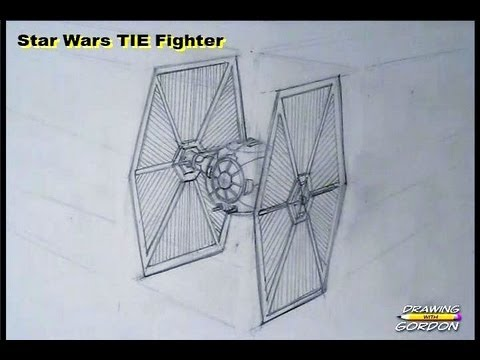 480x360 How To Draw A Star Wars Tie Fighter