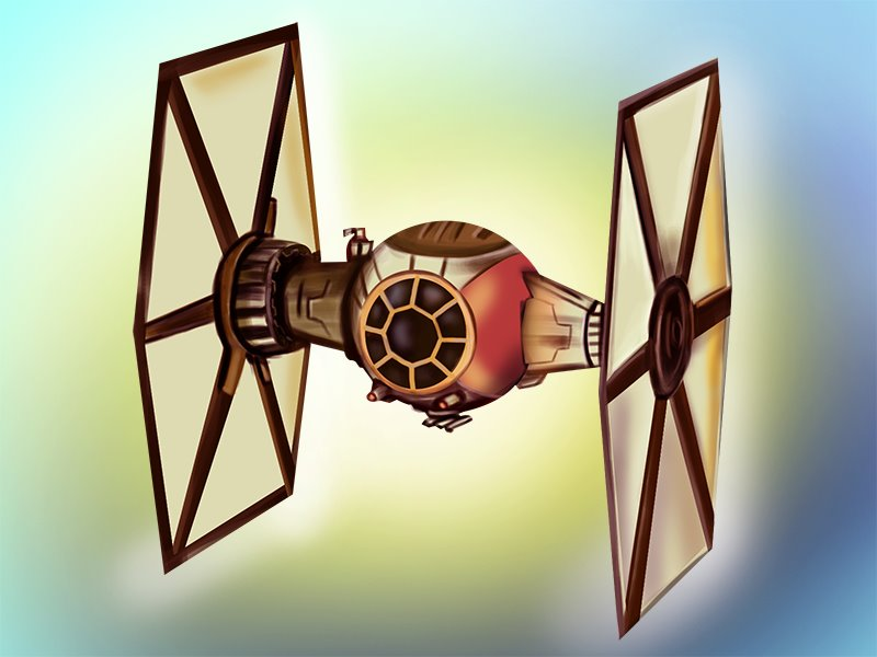 800x600 Learn How To Draw Tie Fighter From Star Wars