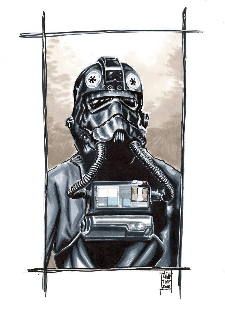 760x1050 Tie Fighter Pilot Commission By Idirt On Star Wars
