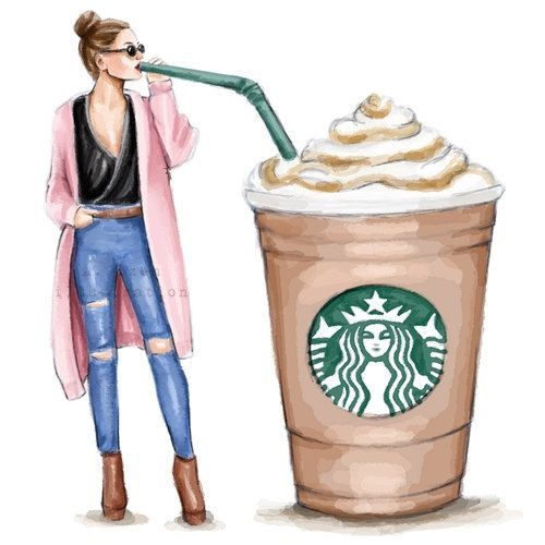 500x500 Want This!!!! Aylen's Board Starbucks, Draw And Coffee