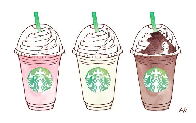 663x417 Frappuccino Drawing Image Galleries