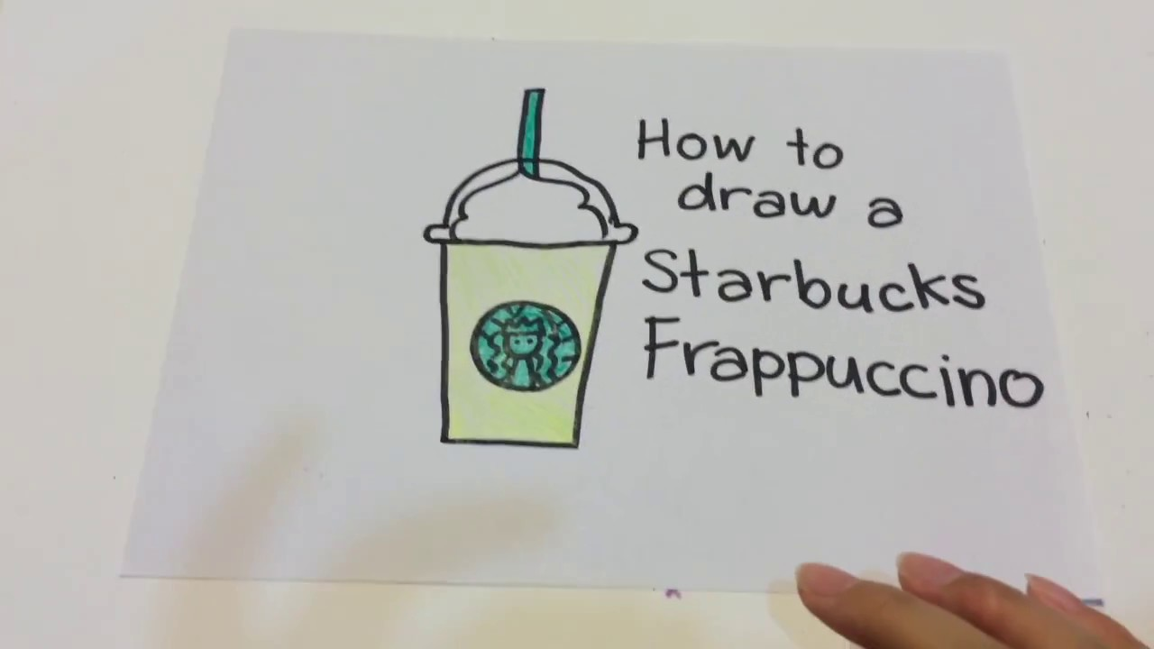 Starbucks Frap Drawing At Getdrawings Com Free For