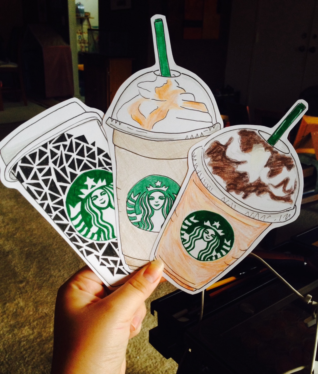 1089x1280 Pick A Card, Any Card. Graphics Starbucks