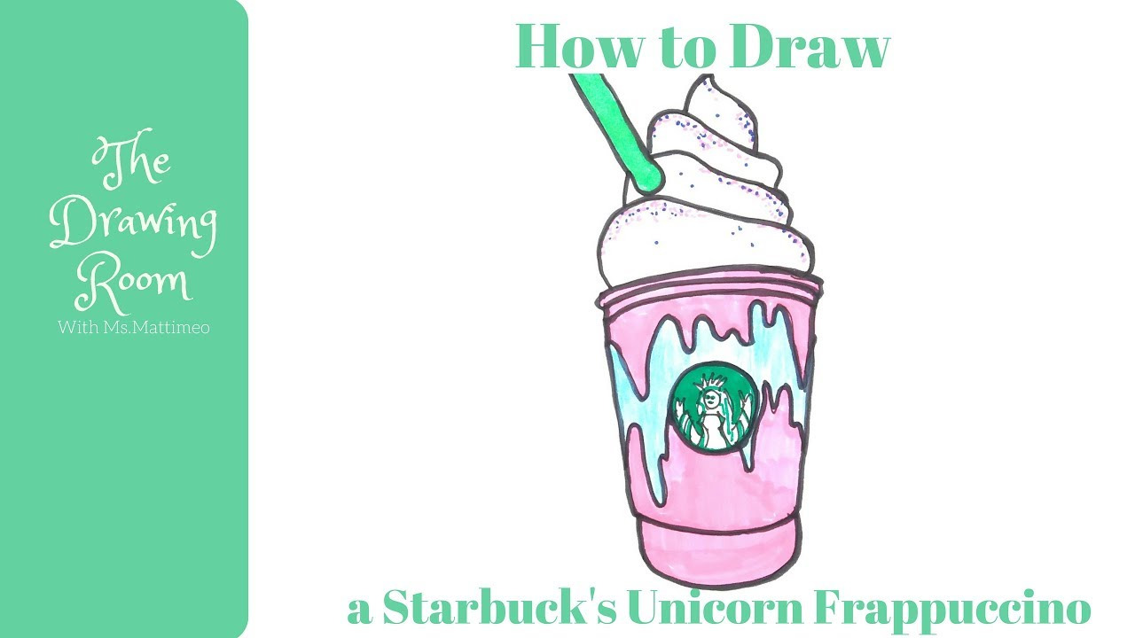 Starbucks Frappuccino Drawing At Getdrawings Com Free For