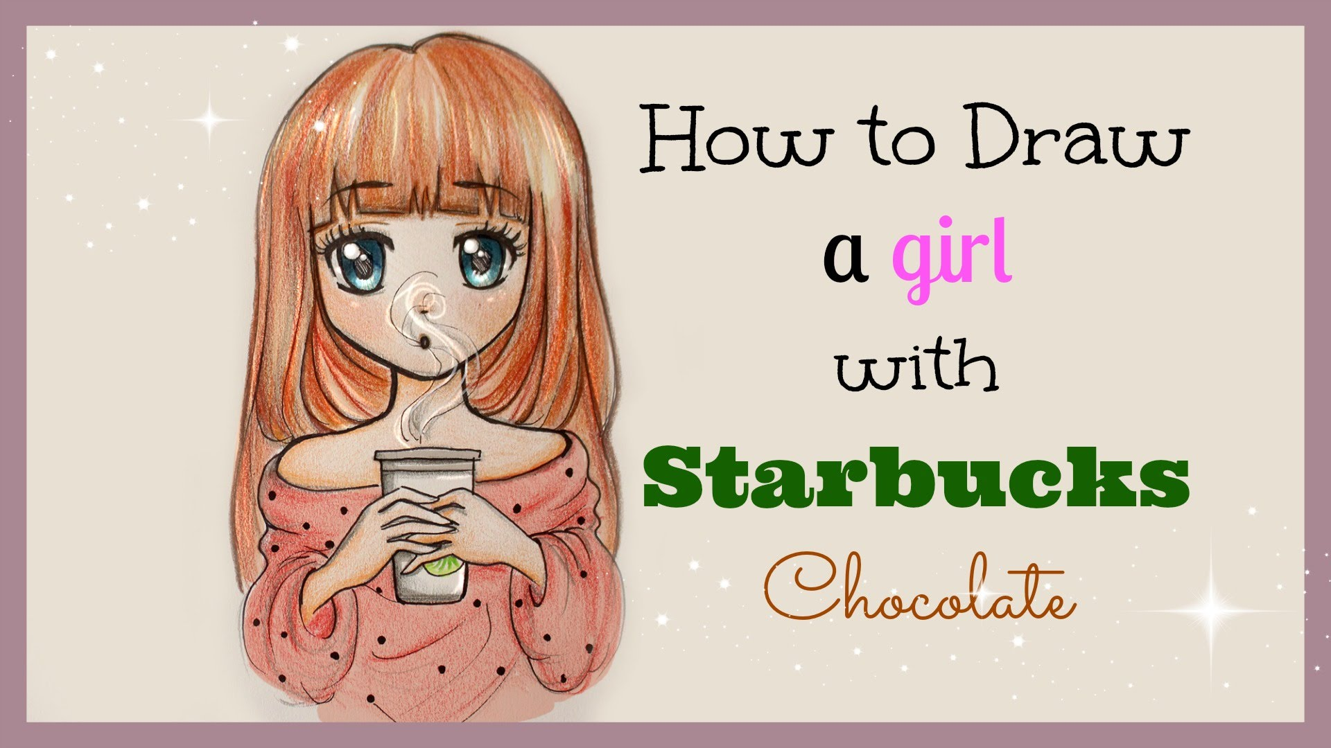 Starbucks Girl Drawing At Getdrawings Com Free For