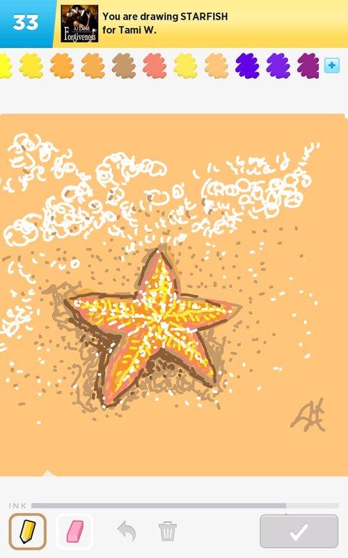 500x800 Starfish Drawings